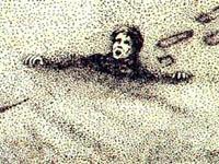 Buracos de areia matam com mais frequência que tubarões
