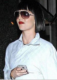 Britney Spears apareceu com um novo look