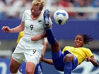 Mundial de futebol feminino: Brasil goleia Nova Zelândia por 5 a 0