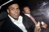 Ronaldo em seu retorno à Itália fuge do assédio dos jornalistas