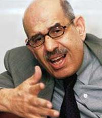 El Baradei cosidera que há falta de apoio da UE