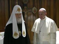 O encontro inédito em Cuba entre o Papa Francisco e patriarca Ki. 23782.jpeg