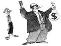Desigualdade entre salários de pobres e ricos cai 7%