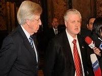 Vicepresidente uruguaio Cr. Danilo Astori Recebe Presidente do