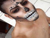 Maquiador ensina fazer makes arrasadoras de Halloween. 29793.jpeg