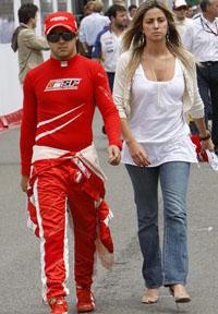 Casamento de Felipe Massa  adiado