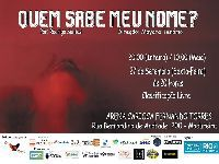 'Quem Sabe Meu Nome?' estreia dia 27/09, na Arena Carioca Fernando Torres, no Rio de Janeiro. 31801.jpeg
