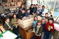 Alunos fazem caixão para professora a seu pedido (foto)