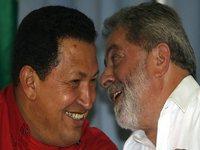 Conversa Chávez-Lula