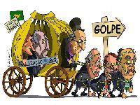 Bando que se apossou do poder mantém as forças econômicas e políticas do Brasil estagnadas. 25813.jpeg