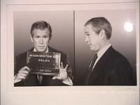 Exposição com fotografias de futuros politicos criminosos