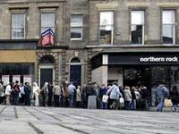 Banco Northern Rock é a primeira vítima da crise no mercado de crédito  nos EUA
