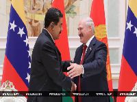 Presidente de Belarus parabeniza Maduro pela reeleição na Venezuela. 28818.jpeg