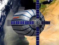 Lançado satélite que servirá de um hotel