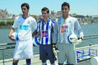 FC Porto modifica o  equipamento