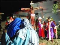 Paixão de Cristo 2009 em Lauro de Freitas