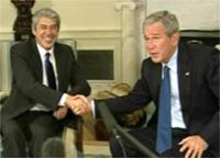 Bush elogiou a reforama da segurança social em Portugal
