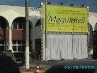 Maquintex 2009 – Abriu as portas no Centro de Convenções de Fortaleza