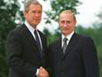 Cimeira informal Bush-Putin