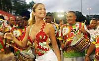 Grazielli Massafera será a rainha de bateria da Grande Rio no Carnaval 2008