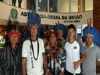 Indígenas protestam contra parecer da AGU que inviabiliza demarcações. 27844.jpeg