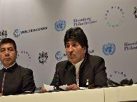 Bolívia quer atacar causas estruturais da mudança climática. 27846.jpeg