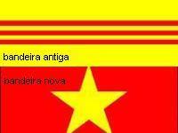 Na Casa Branca não sabem como é a bandeira do Vietnã