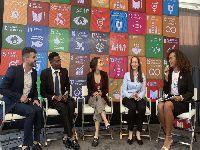 Na Cúpula do Clima, jovens apresentam soluções para as mudanças climáticas. 31851.jpeg