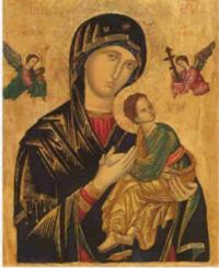 Fiéis acreditam ver a imagem de Nossa Senhora Aparecida