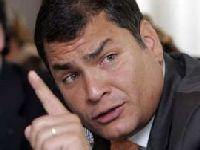 Correa considera orgulho recuperação da autoestima no Equador. 24873.jpeg