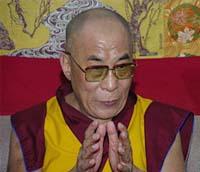 Dalai Lama não demitir-se-á  como o líder espiritual do Tibete