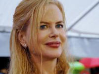 Esta é a primeira vez que Nicole Kidman dá à luz