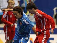 Rússia golea Japão e garantiu a passagem para a segunda fase do Mundial de Futsal