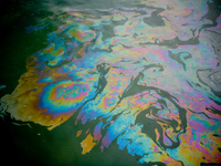 Plataforma Explode no Golfo do México