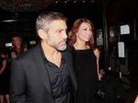 George Clooney fraturou uma costela em um acidente de moto