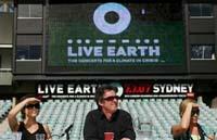 Live Earth: 40 mil pessoas começa na Austrália