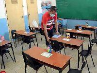 Escolas cubanas finalizam as medidas para reiniciar o ano letivo. 33900.jpeg