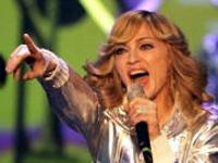 Madonna cantará no Brasil