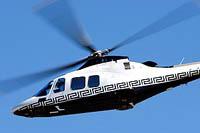 Versace desenha helicópteros