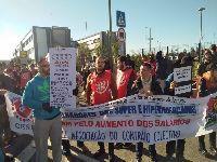 Grande adesão à greve nas empresas de distribuição. 27909.jpeg