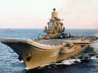 Porta-Aviões Kuznetsov pronto para acção