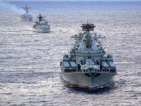 O Exercício da Frota do Pacífico começa no Mar do Japão