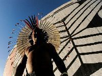 Movimento Indígena promove ato pelos 30 anos da Constituição. 29924.jpeg