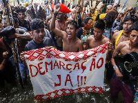 Marcha indígena em Brasília exige volta da Funai ao Ministério da Justiça. 30926.jpeg