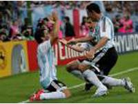 Alemanha e Argentina num final antecipado