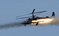 Rússia começa a produzir helicópteros Ka-52