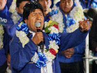 Evo Morales defende vitória contra o neoliberalismo e os vende-pátria. 31939.jpeg