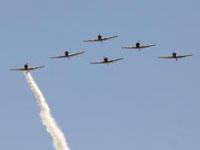 Show aéreo termonou com morte do  piloto de Blue Angels