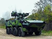 Exército recebe veículos blindados Pandur, primeiros