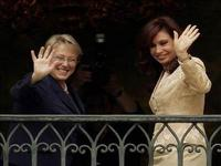 Os desafios de Michelle Bachelet e Cristina Fernández